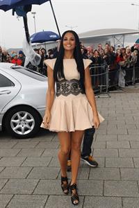 Alesha Dixon - Britains Got Talent Auditions - Cardiff - 29.01.12