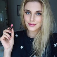 Ashley James taking a selfie