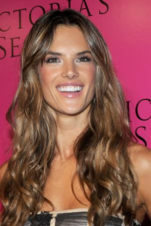 Alessandra Ambrosio attends the 2009 Victoria's Secret Show after party in New York