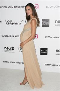 Alessandra Ambrosio 20th annual Elton John Aids foundation party on February 26, 2012