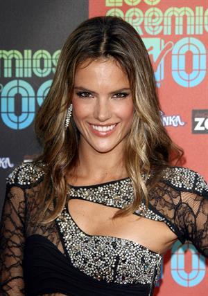 Alessandra Ambrosio Los Premios MTV 2009 Latin America Awards