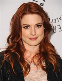Alexandra Breckenridge Paleyfest honoring american horror story in Beverly Hills on February 3, 2012