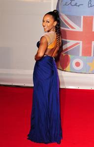 Alexandra Burke Brit Awards 2012 in London on February 21, 2012