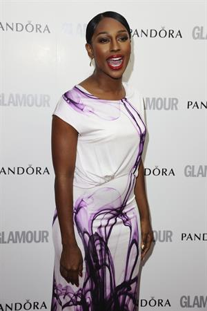 Alexandra Burke attending the Glamour Women of the Year Awards on June 29, 2012