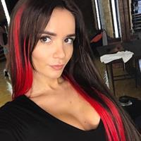 Ekaterina Zueva taking a selfie