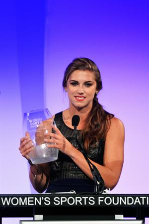 Alex Morgan 33rd Annual Salute To Women In Sports, October 17, 2012
