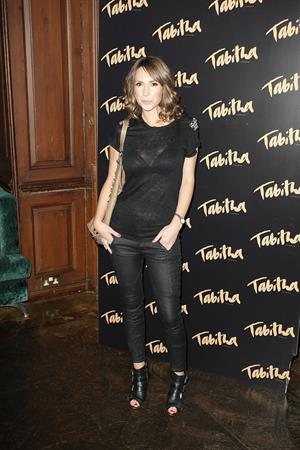Alex Jones - Tabitha Collection Event, London - September 5 2012