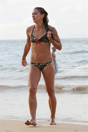 Alex Morgan bikini candids in Hawaii 12/19/12
