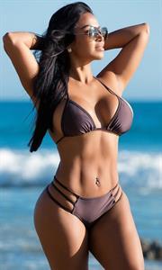 Dolly Castro in a bikini