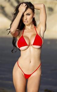 Iryna Ivanova in a bikini