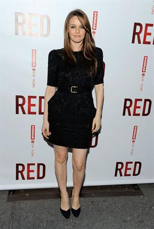 Alicia Silverstone broadway attends the opening of Red at the John Golden theatre on April 1 2010 in New York