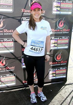 Alison Sweeney 5th Annual Rock N Roll Las Vegas Marathon (November 17, 2013)