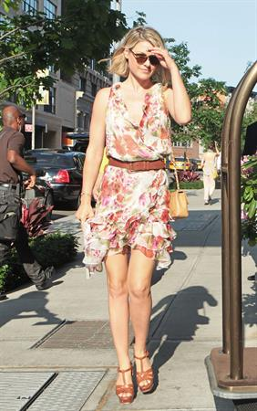 Ali Larter arriving her hotel in Soho New York - May 29, 2012