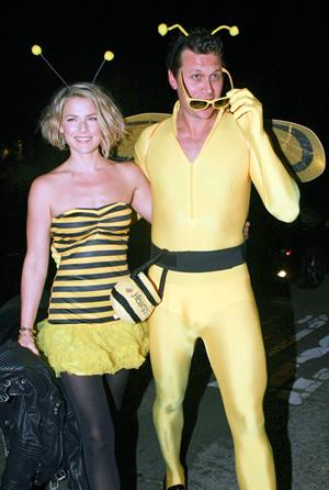 Ali Larter at Kate Hudson's Halloween Party in Brentwood on October 30, 2011