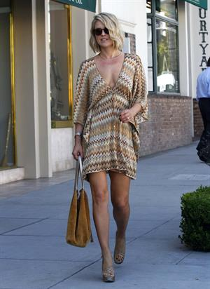 Ali Larter out and about in Los Angeles on October 13, 2011