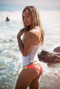 Sunny Reichert in a bikini - ass