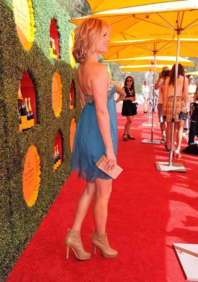 Ali Larter 3rd Annual Veuve Clicquot Polo Classic in LA October 6, 2012