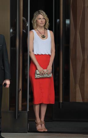 Ali Larter Leaving Her Hotel In Soho New York May 30, 2012
