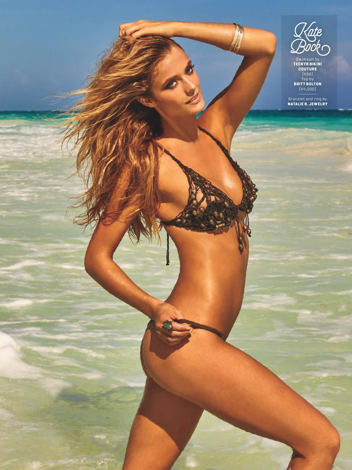 Kate Bock for Sports Illustrated Swimsuit Edition 2017 Unrated