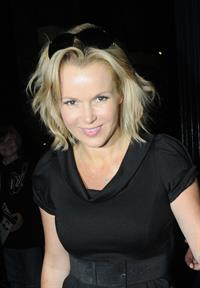 Amanda Holden Theatre Royal in London on August 26, 2011