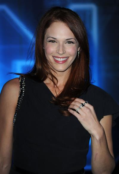 Amanda Righetti world premiere of Walt Disney's Tron Legacy on December 11, 2012
