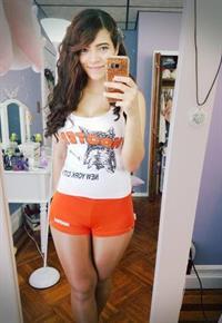 Brittany Venti taking a selfie