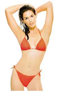 Cindy Crawford in a bikini
