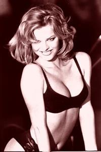 Eva Herzigova in a bikini