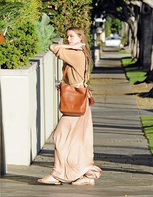 Amber Heard in Beverly Hills on May 11, 2013