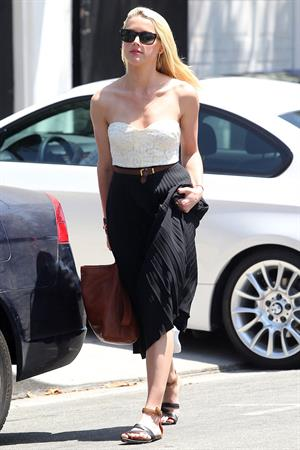 Amber Heard out in Los Angeles on July 11, 2012