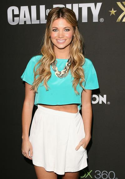 Amber Lancaster Call of Duty Modern Warfare 3 release party in Las Angeles 03.09.11