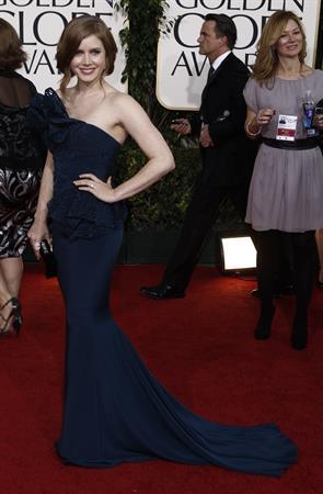 Amy Adams 68th Annual Golden Globe Awards on January 16, 2011