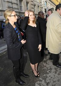 Amy Adams BAFTA Nomination Lunch in London England on February 12
