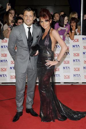 Amy Childs National Television Awards on January 26, 2011
