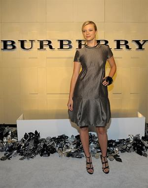 Amy Smart reopening celebration of the Beverly Hills Burberry store