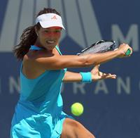 Ana Ivanovic at the Mercury Insurance Open in August 2011