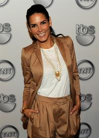 Angie Harmon attends the TEN Upfront 2011 at Hammerstein Ballroom on May 18, 2011