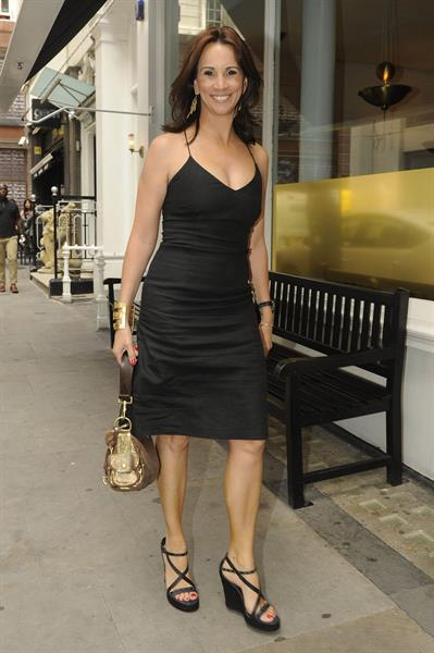 Andrea McLean Loose Women party on August 5, 2011