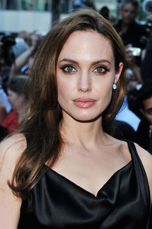 Angelina Jolie at Moneyball Premiere at the Toronto International Film Festival on September 9, 2011
