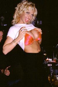 Rebecca Wild in lingerie