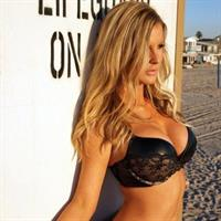 Kimber Cox in lingerie