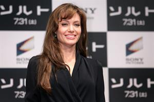 Angelina Jolie Salt Press conference in Tokyo on July 27, 2010