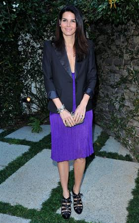 Angie Harmon 3rd annual Women in Film pre Oscar party at a private residence in Bel Air on March 4, 2010