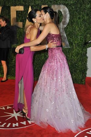 Angie Harmon 2010 at Vanity Fair Oscar party on March 7, 2010