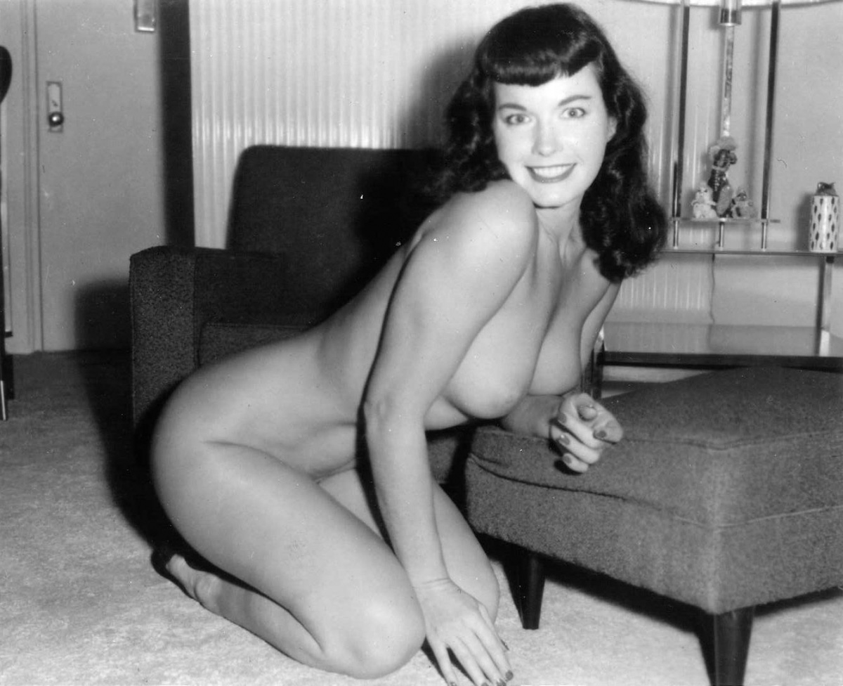 Bettie Page Nude Sex