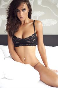 Rosie Jones in lingerie