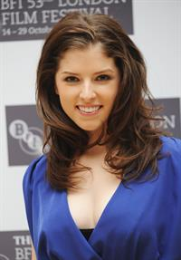 Anna Kendrick Up in the Air photocall during The Times BFI London Film Festival