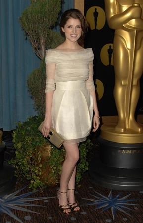 Anna Kendrick 82nd Academy Awards Nominee luncheon at the Beverly Hilton hotel on February 15, 2010