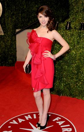 Anna Kendrick Vanity Fair Oscar Party hosted by Graydon Carter held at Sunset Tower on February 27, 2011