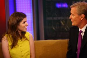 Anna Kendrick visiting Fox and Friends in New York City on September 26, 2011